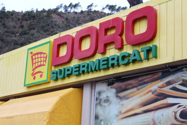 Insegna Doro Supermercati